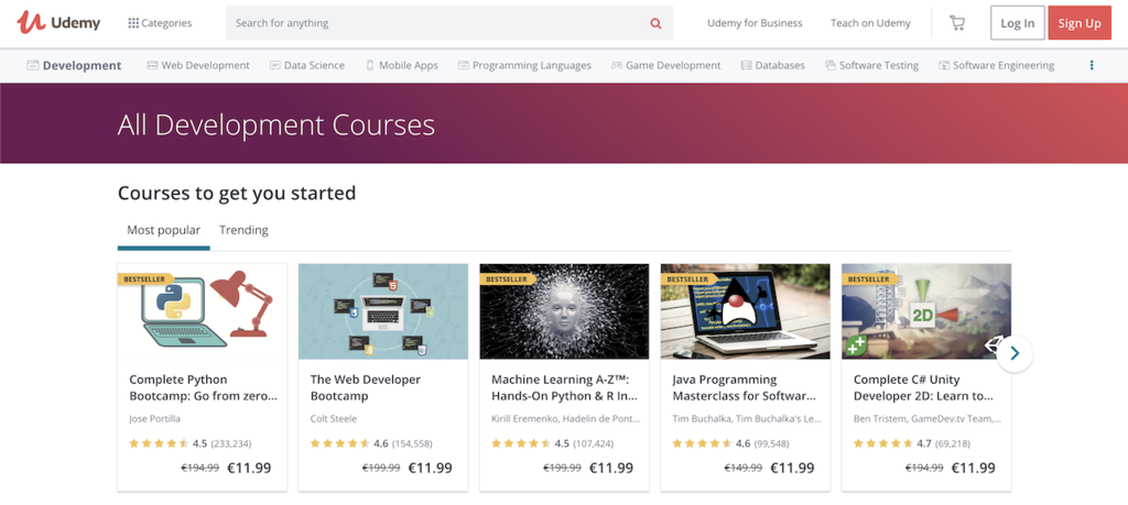udemy-web-development