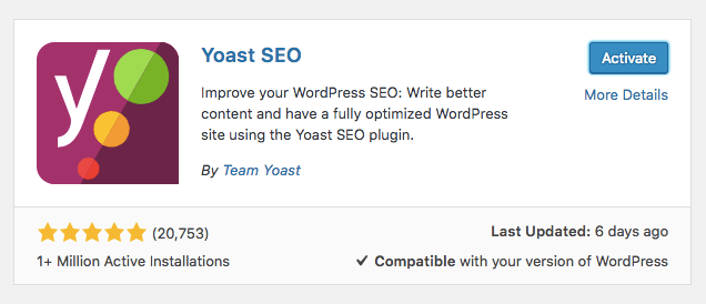 Tips SEO de WordPress - configuración del plugin Yoast SEO
