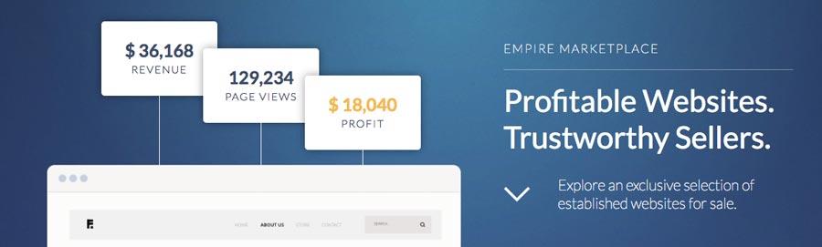 Gana dinero por internet vendiendo sitios web