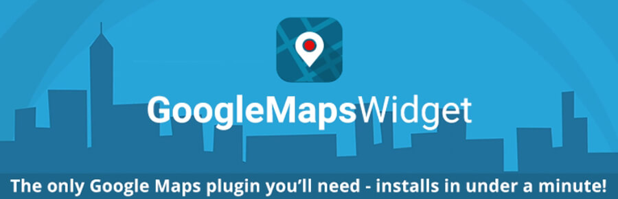 Plugin Google Maps Widget.