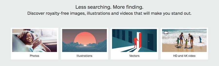 Gana dinero en línea con imágenes de stock