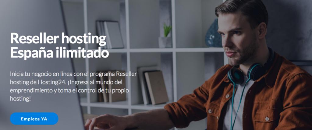 Idea de negocio online: hosting reseller.