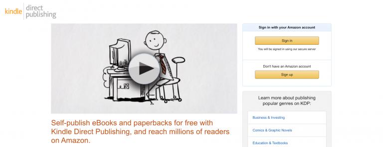 publicar libros en kindle