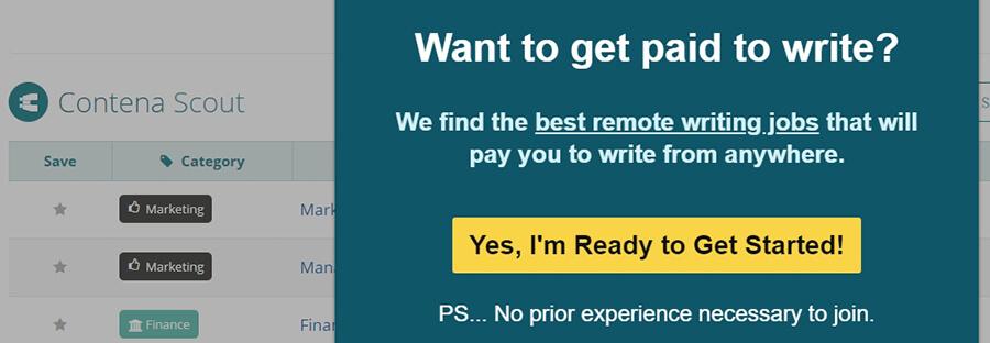 Idea de negocio online - sitio de bolsa de trabajo.