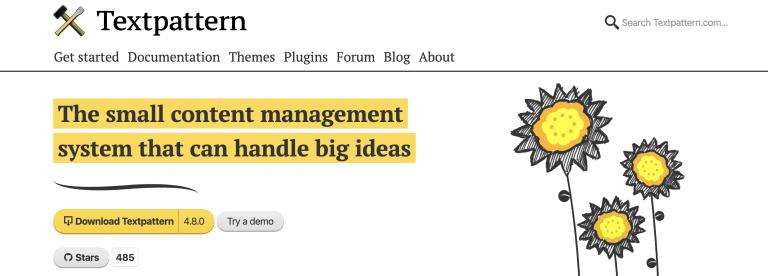 text-pattern-inicio mejores plataformas para blogs