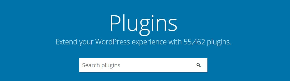 El directorio de plugins de WordPress.