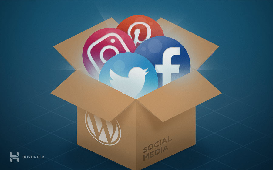 redes sociales y wordpress