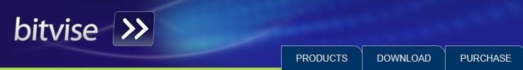La página de inicio de Bitvise.