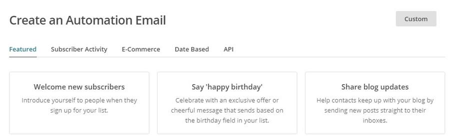 Actualizaciones automáticas del blog de correos electrónicos.