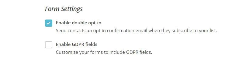 Habilitar la verificación de suscripción.