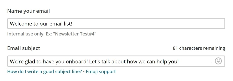 Configurando el texto de vista previa de su correo electrónico.