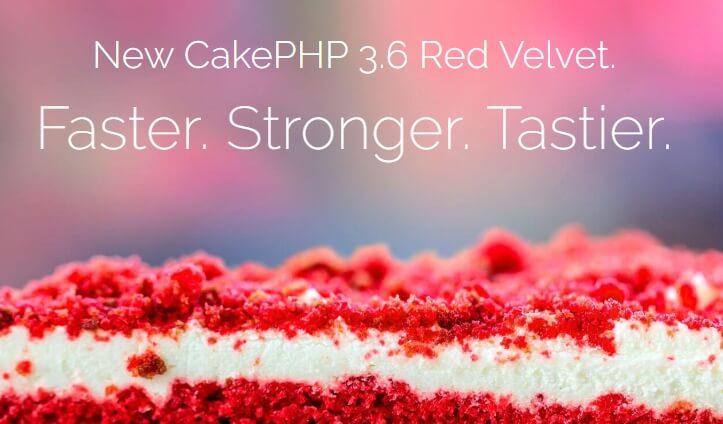 La página de CakePHP.