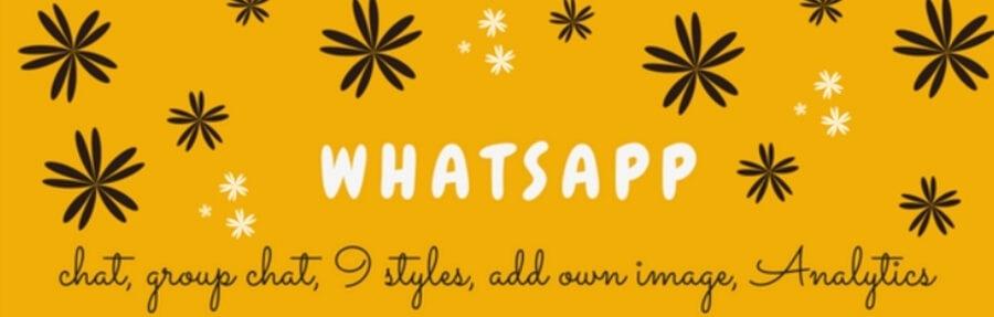 El plugin Click to Chat para WhatssApp.