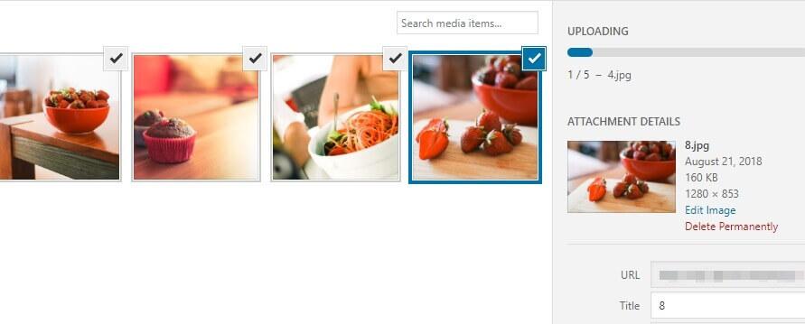 Añadiendo imágenes a tu slider.