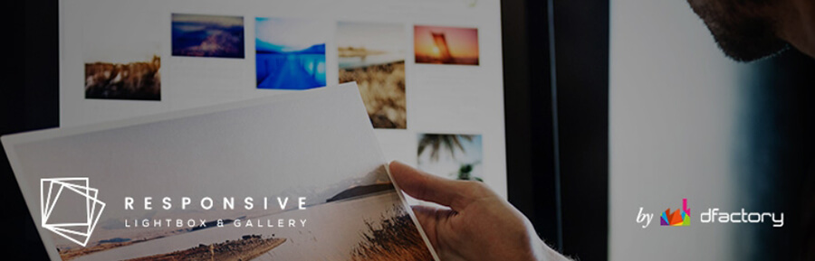 El plugin Responsive Lightbox & Gallery.