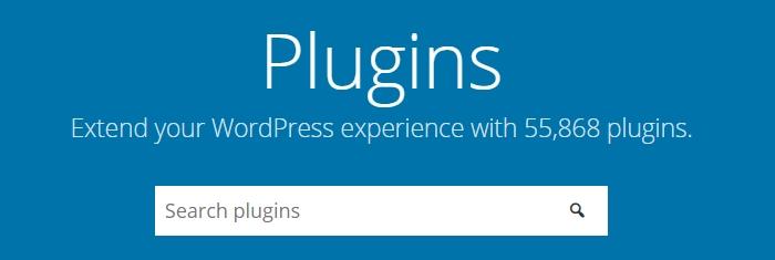 El directorio del plugins de WordPress.org.