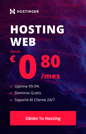 Hosting Web Oferta Marzo