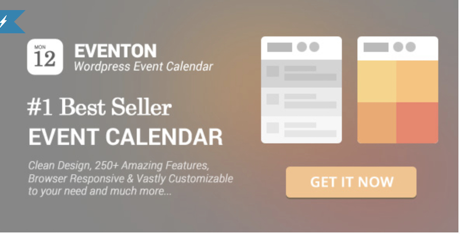 EventOn plugin de calendario WordPress