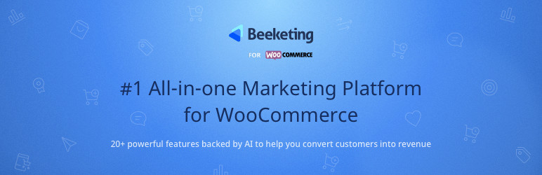 Beeketing logo Plugin para WooCommerce.