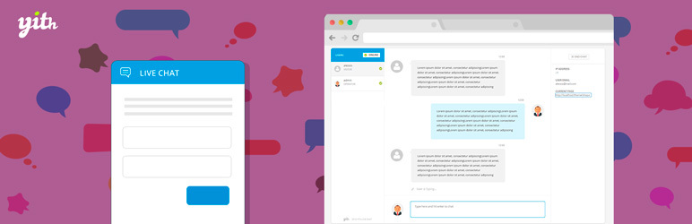 YITH WooCommerce Live Chat plugin captura de pantalla.