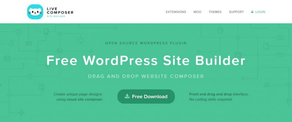 Live Composer Page Builder para WordPress