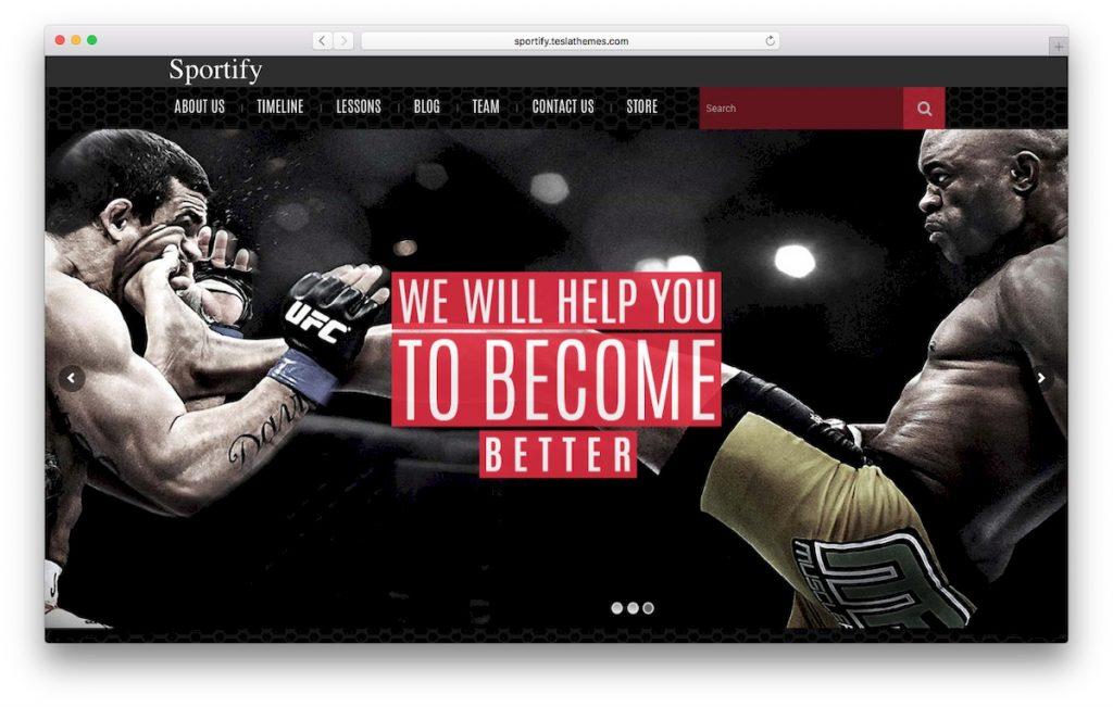 Sportify Tema de WooCommerce