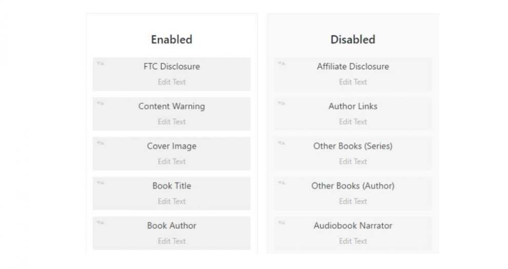 Complemento Ultimate Book Blogger WordPress Review