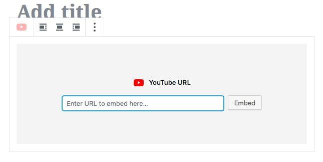 Incrustando un video de youtube