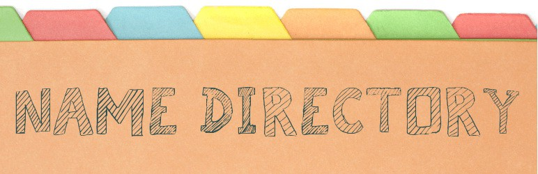 Name Directory Plugin de directorio de WordPress