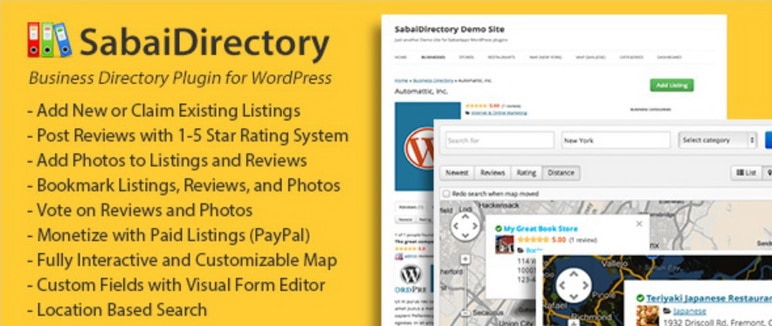 Sabai WordPress Directory Plugin