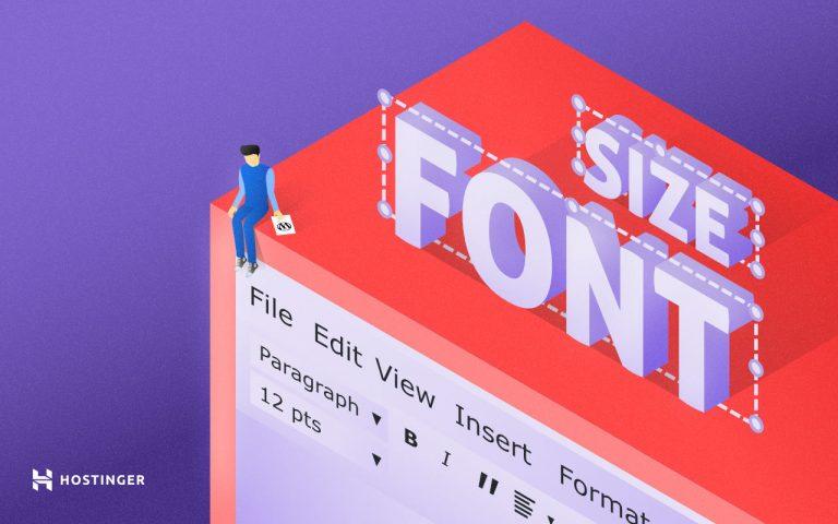 Cómo cambiar el tamaño de la letra en WordPress