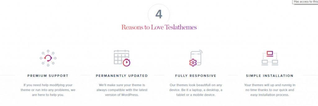 Razones para elegir Tesla Framework