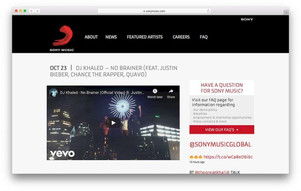 Ejemplo de video de youtube incrustado