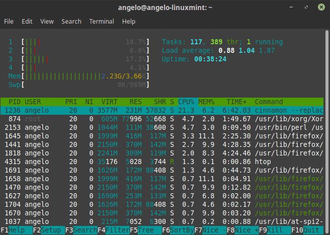 Reanudando una sesión de Linux Screen