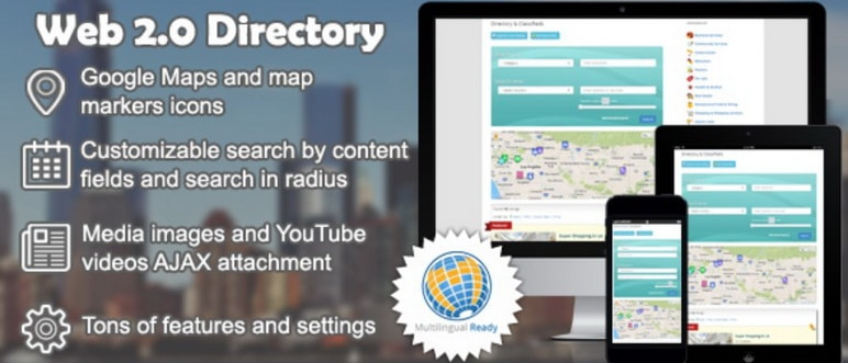 Web 2.0 Directory WordPress Directory Plugin