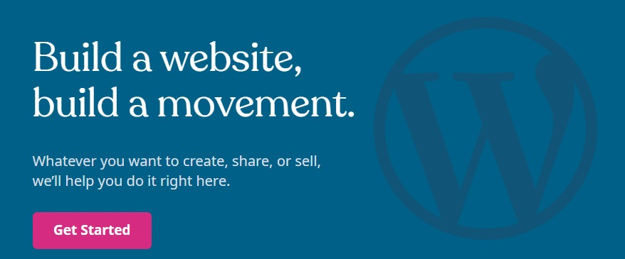 Logotipo e imagen de WordPress.