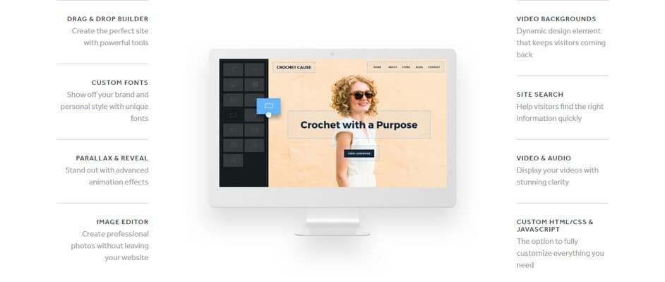 Ejemplo de creador de páginas web