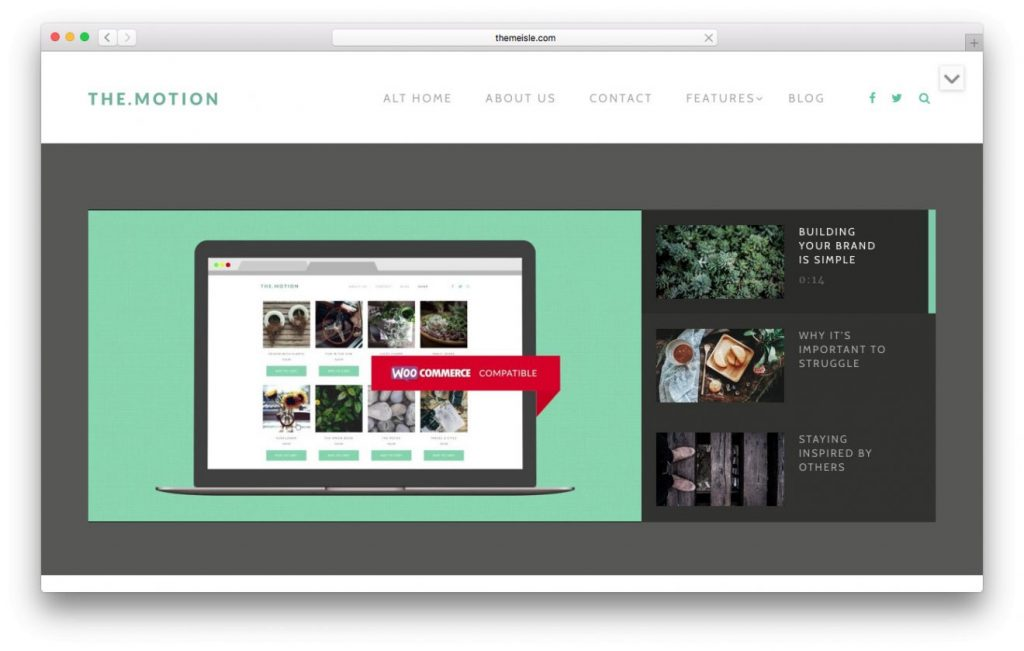 Tema de video TheMotion wordpress