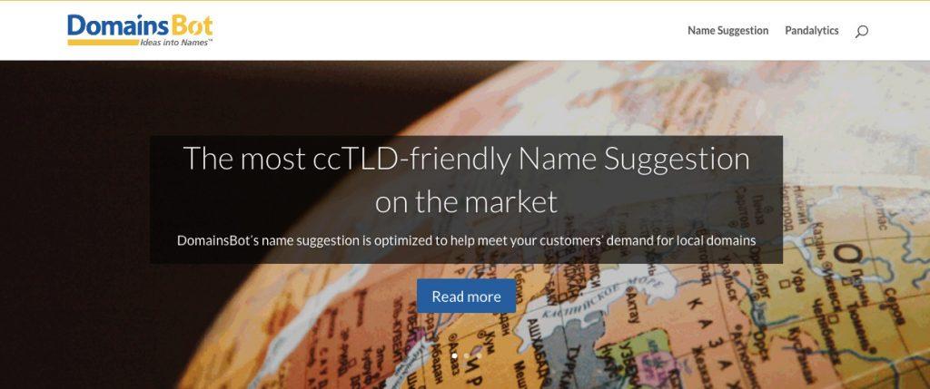 domains bot blog generador de nombres