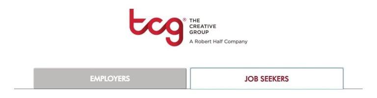 La búsqueda de trabajo de Creative Group