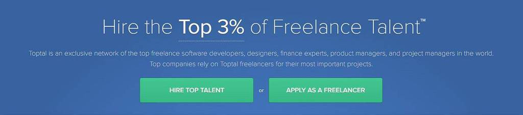 Toptal 3% top talent