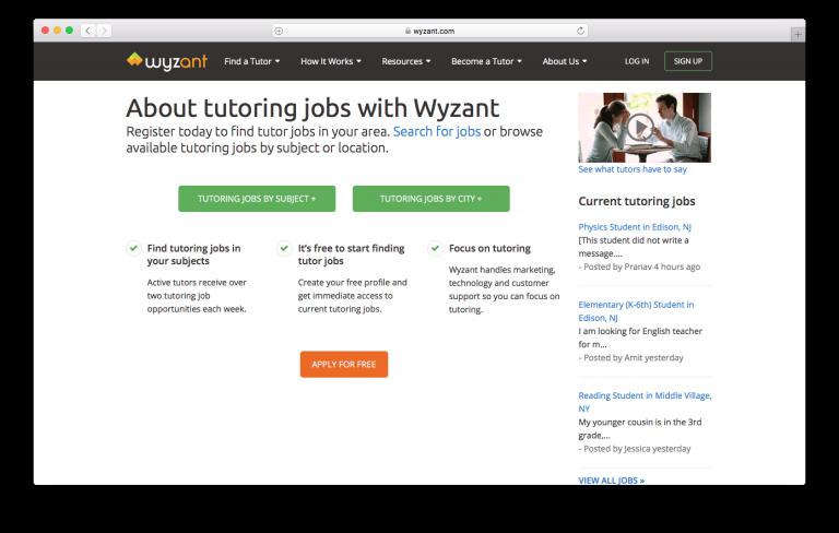 La tutoría en línea es un negocio en línea prometedor
