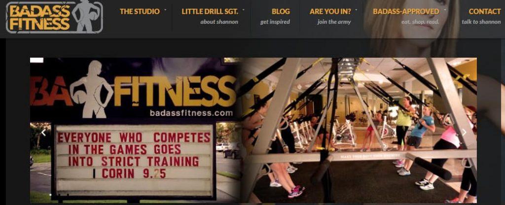 Página de inicio de Badass Fitness Fitness Blog