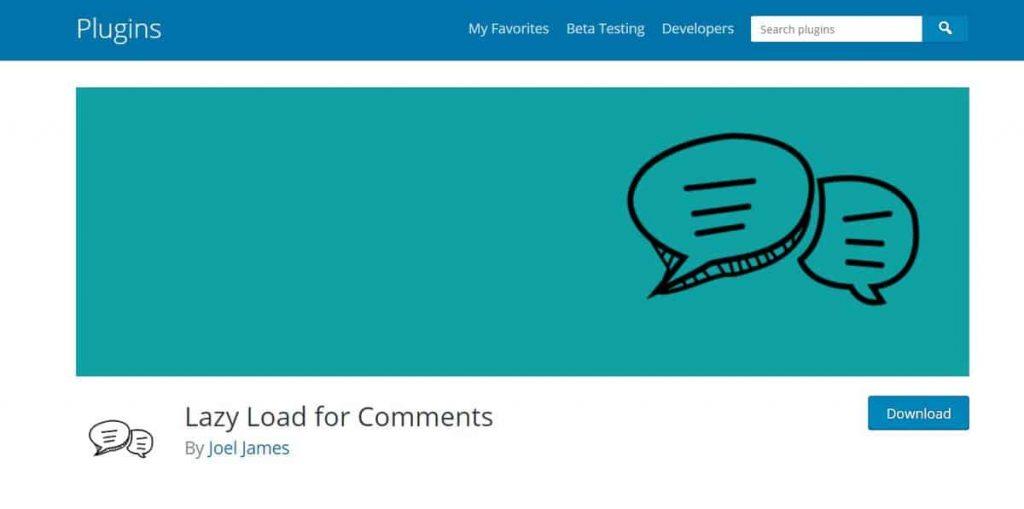 El comentario de carga diferida es un excelente complemento de comentarios de WordPress