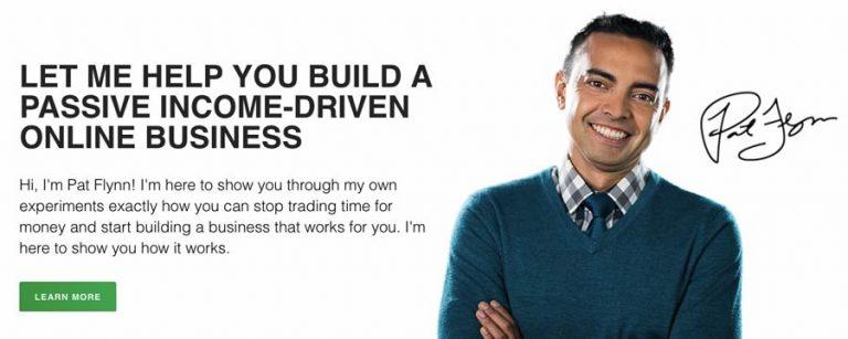 Ejemplo de sitio web de marketing de afiliación - Smart Passive Income