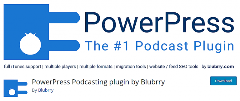 powerpress podcast plugin de wordpress