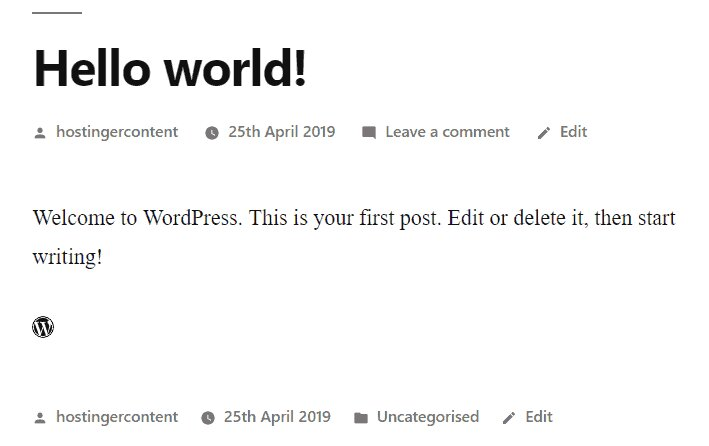 el fragmento HTML del icono de WordPress de Font Awesome en el editor de publicaciones de WordPress