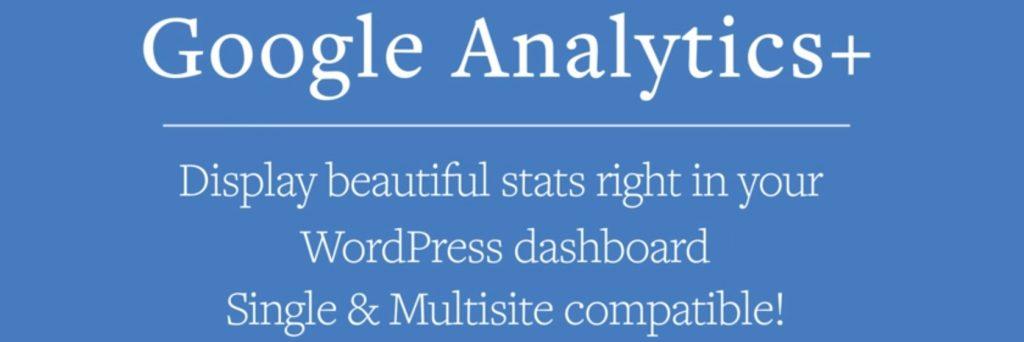 Complemento de Google Analytics + WP