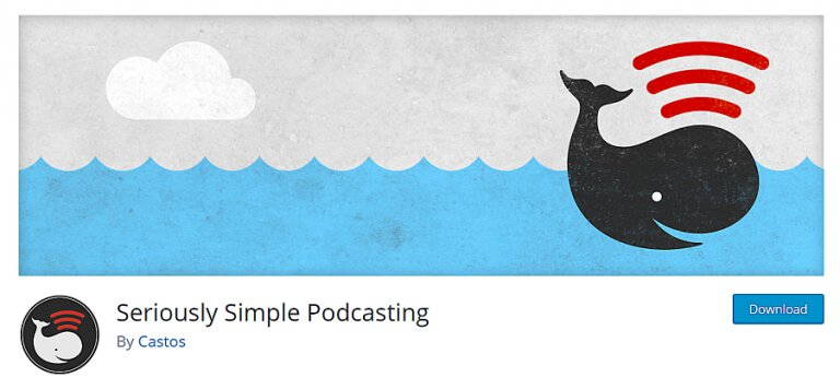 complemento de podcasting realmente simple