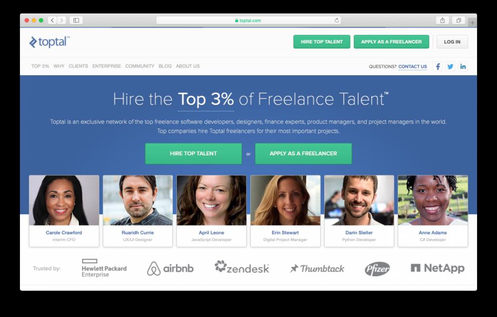 Toptal tiene los mejores freelancers de WordPress para contratar